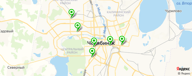 пилинг джесснера на карте Челябинска