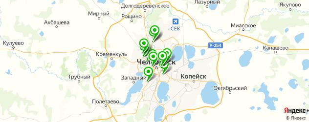 детская стрижка на карте Челябинска