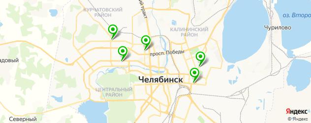 снятие нарощенных ресниц на карте Челябинска