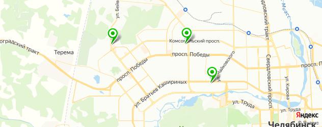 долговременная укладка на карте Челябинска