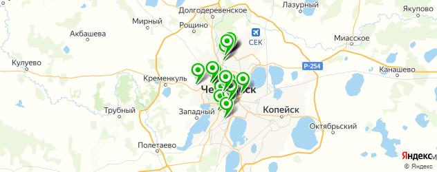 выездные рестораны на карте Челябинска