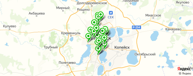 армянские кафе на карте Челябинска