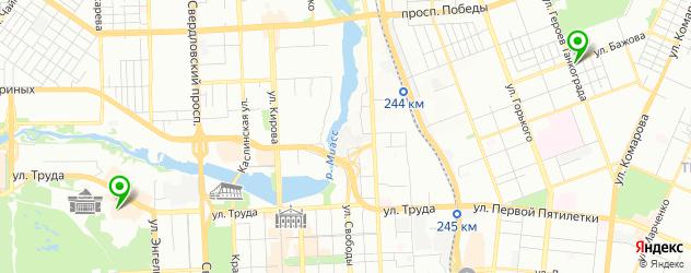 баварская кухня на карте Челябинска