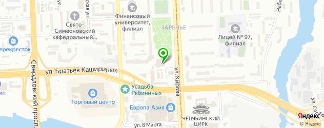 постижерные мастерские на карте Челябинска