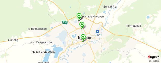 квесты на карте Кургана