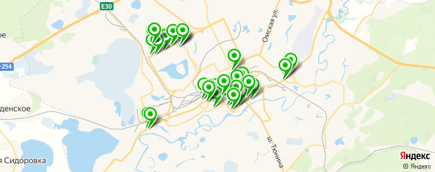 аптеки на карте Кургана