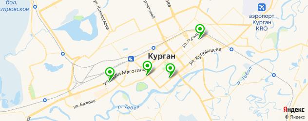 тату салон на карте Кургана