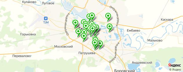 замена экрана смартфона на карте Тюмени