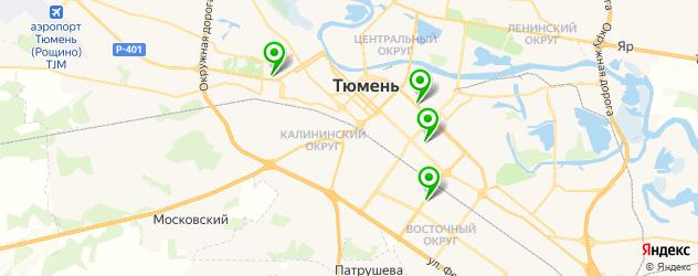 сервисные центры Acer на карте Тюмени