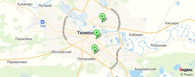 детские больницы на карте Тюмени