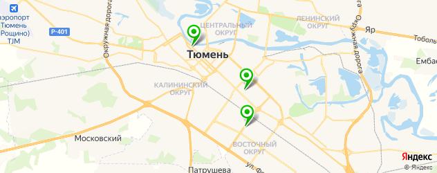 Замена экрана iPhone SE на карте Тюмени
