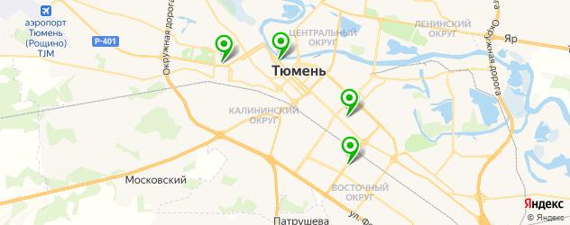 Замена экрана iPhone 6 на карте Тюмени