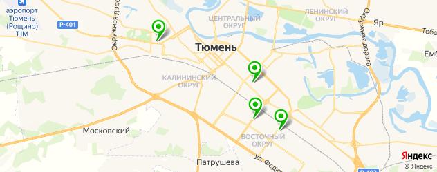 Ремонт планшетов Acer на карте Тюмени