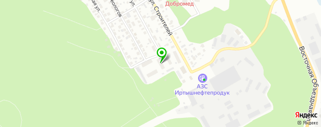 авторазборки Тойота на карте Ханты-Мансийска