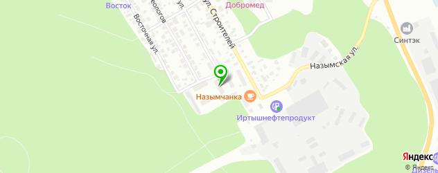 Запчасти Хендай на карте Ханты-Мансийска