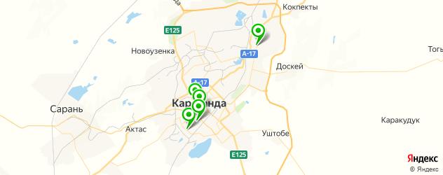 детский день рождения на карте Караганды