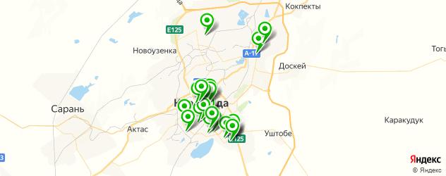 колледжи на карте Караганды