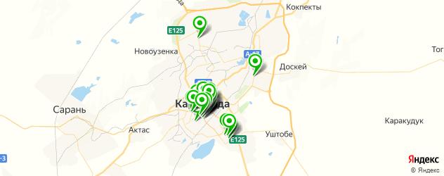 Финансы на карте Қарағанды