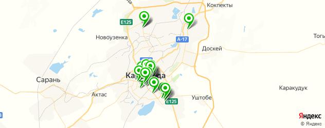 Финансы на карте Караганды