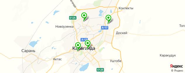 травмпункты на карте Қарағанды