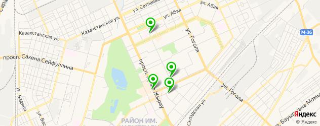 ортопедические магазины на карте Караганды