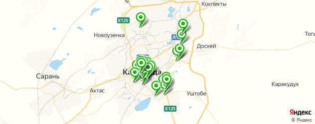 центры косметологии на карте Караганды