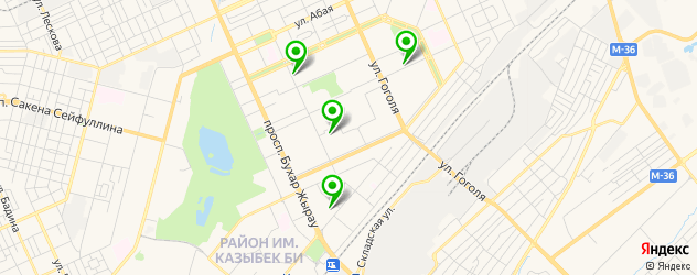 кадровые агентства на карте Караганды