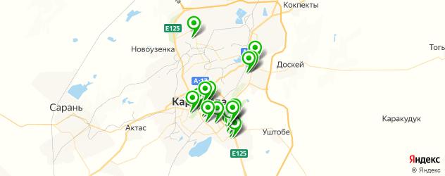 детские клубы на карте Караганды