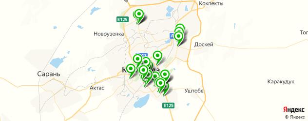 мастерские на карте Қарағанды