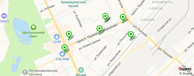 русские рестораны на карте Караганды