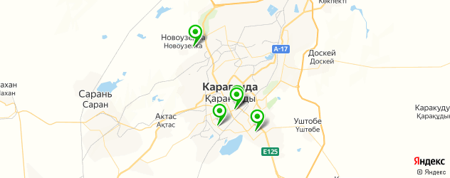 детская игровая комната на карте Караганды