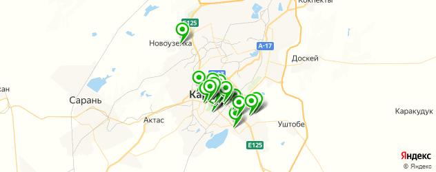 рестораны для свадьбы на карте Караганды