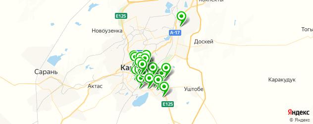 фасты фуд на карте Қарағанды
