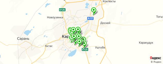 доставка на карте Қарағанды