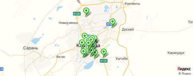 типографии на карте Караганды