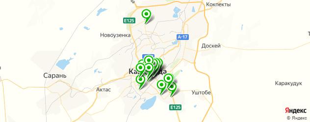 студии маникюра на карте Қарағанды