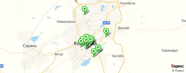 салоны красоты на карте Қарағанды