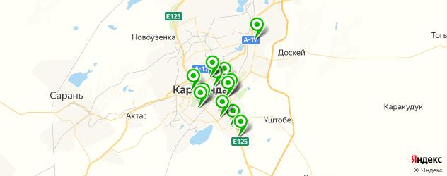 тюнинги-магазины на карте Қарағанды
