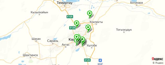 спортивные школы на карте Қарағанды