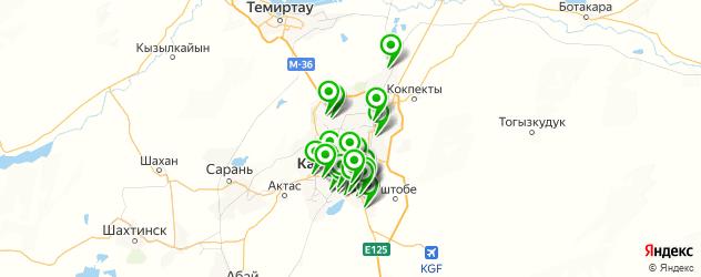автосервисы на карте Караганды