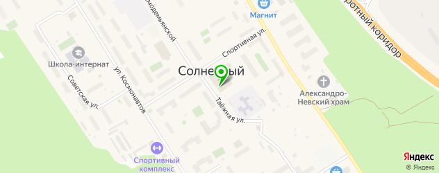 скалодромы на карте Сургута