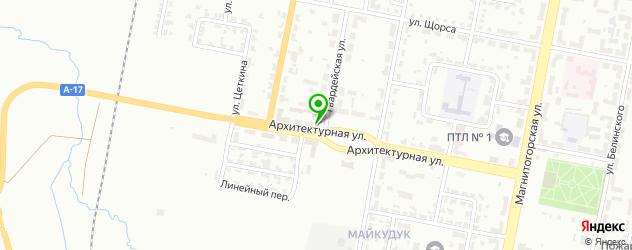 парковки на карте Қарағанды
