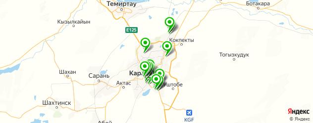 обувные мастерские на карте Караганды