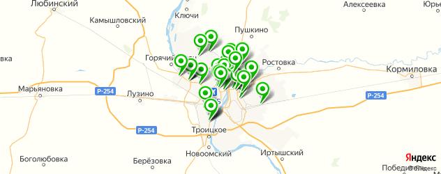 мотосалоны на карте Омска