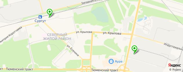 где купить парик на карте Сургута