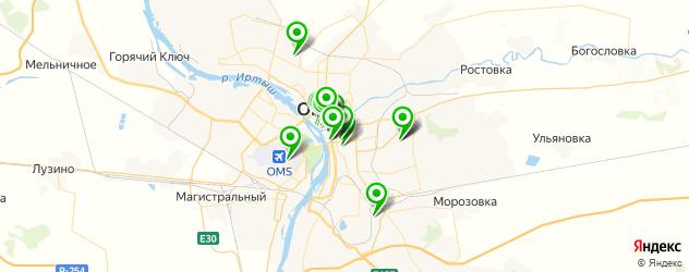 музеи на карте Омска