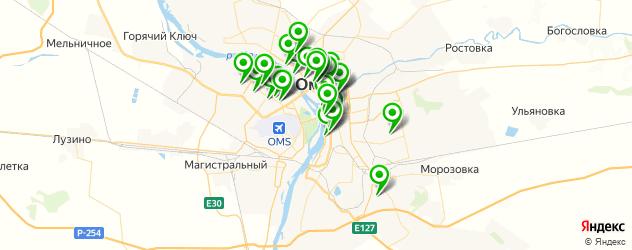 Здоровье на карте Омска