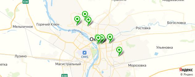 кафе для выпускного на карте Омска
