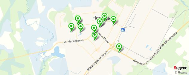 Доставка суши на карте Ноябрьска