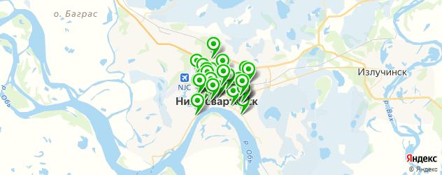 мастерские на карте Нижневартовска